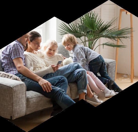An Ottawa family enjoys their heated home