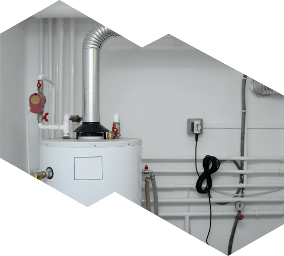 A boiler in an Ottawa home