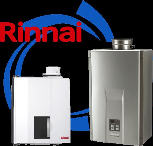 Rinnai water heaters