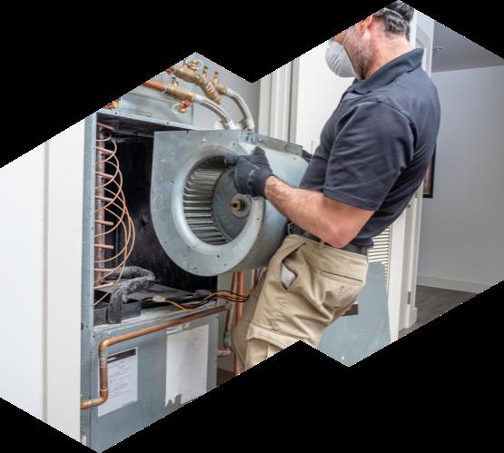 An Advanced HVAC technician replaced a blower