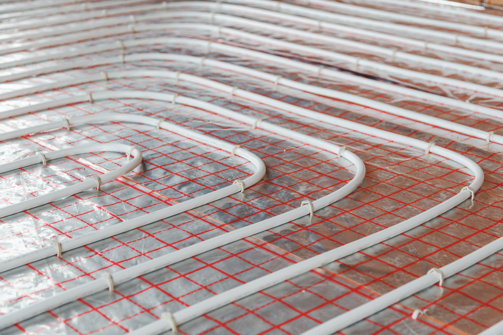 installing radiant floor heating