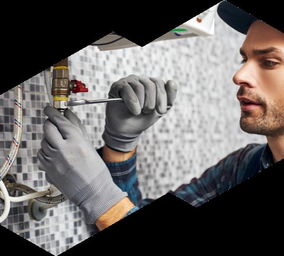 An Advanced HVAC technician installing a tankless water heater
