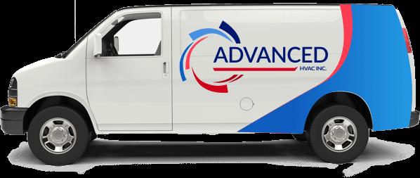 Advanced HVAC van