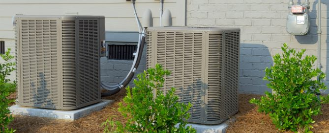 two residential hvac systems